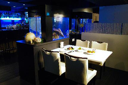 Dining Bar Aquarium