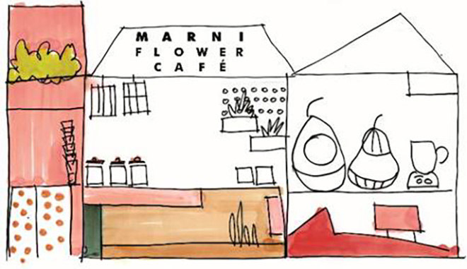 MARNI FLOWER CAFE
