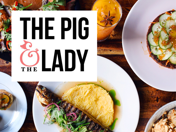 THE PIG & THE LADY