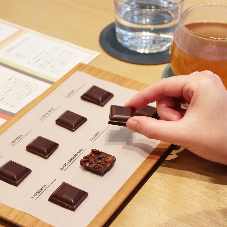 green bean to bar CHOCOLATE 中目黒本店