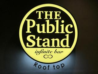 The Public stand Roof top店